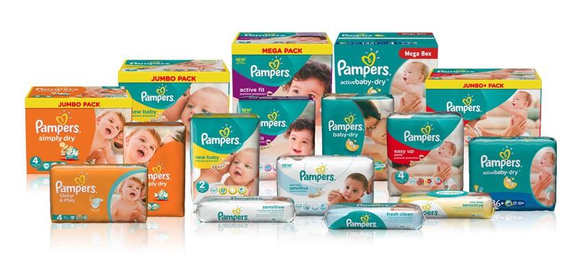Лучшие подгузники для новорожденных от Pampers