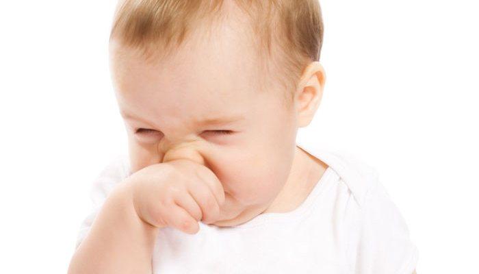 Болезни новорожденных детей - насморк