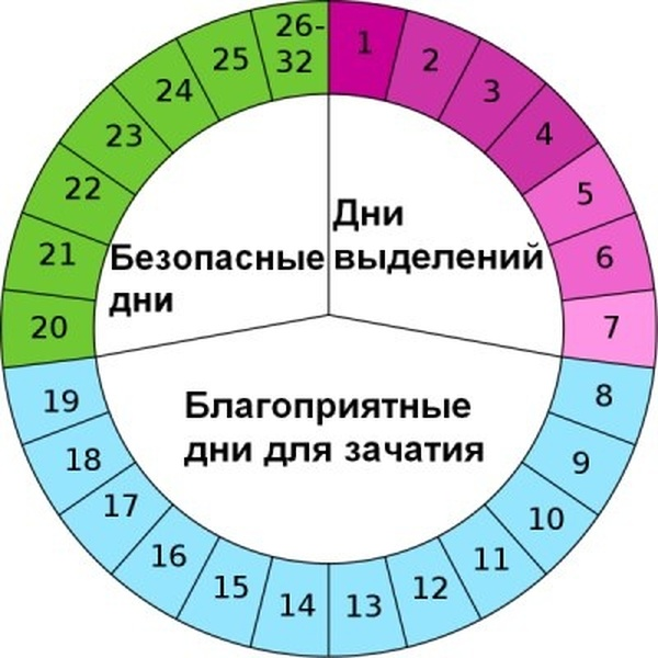 Как рассчитать опасные дни цикла для беременности