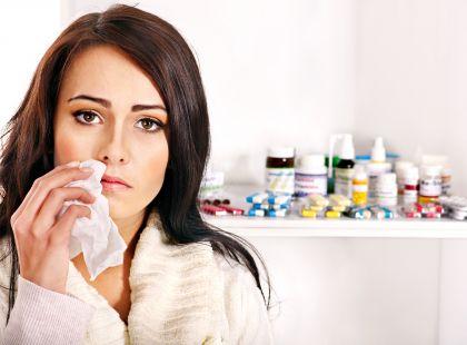 медикаментозное лечение простуды во время беременности