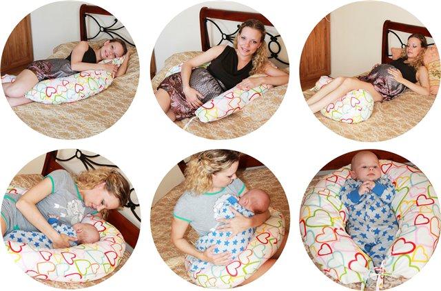 Как использовать подушку для беременных
