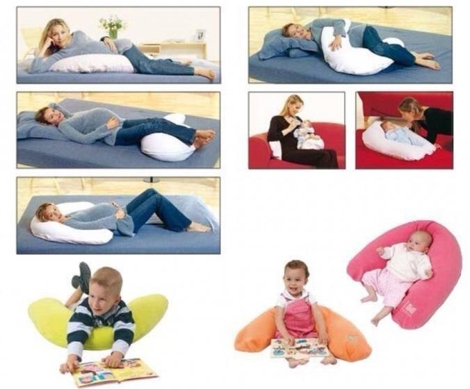Как можно использовать подушку для беременных