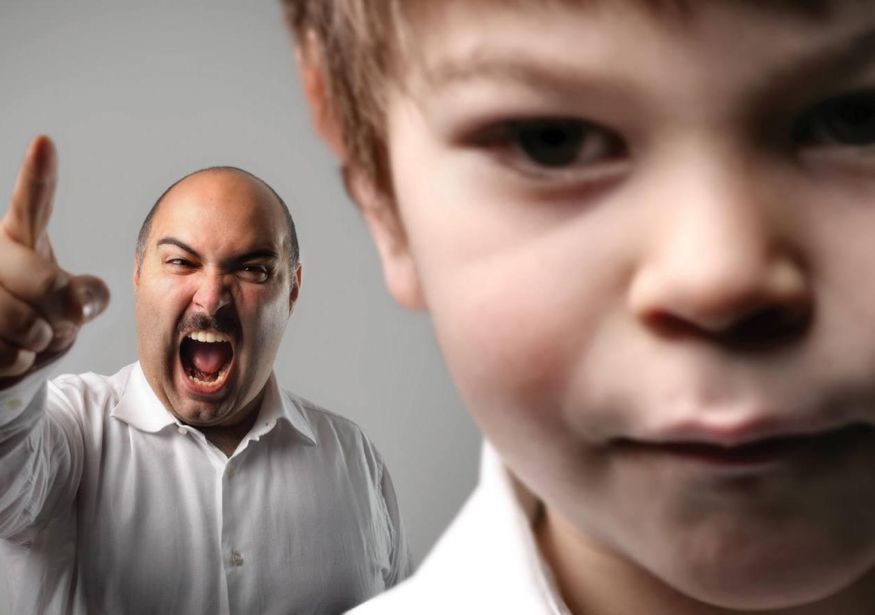 Наказание ребёнка криком