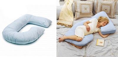 Подушка для беременных буквой G