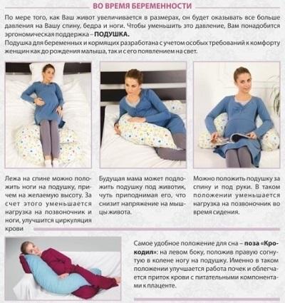 статья о подушке для беременных