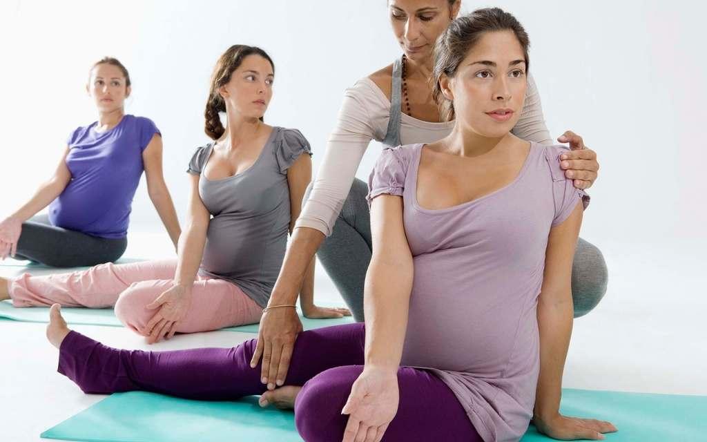 Йога для беременных на 27 неделе