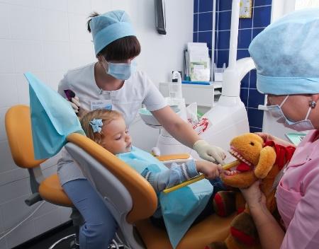 Первый раз к стоматологу