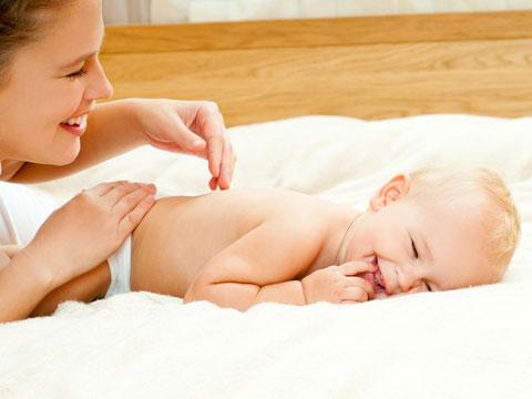 Подготовка ребенка к массажу