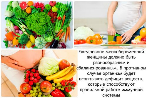 Правильное питание вегетарианки во время беременности