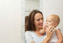 Чистим зубки с ребенком
