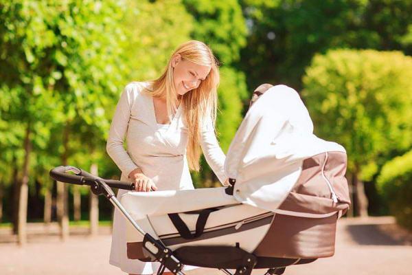 первая прогулка с новорожденным - рекомендации
