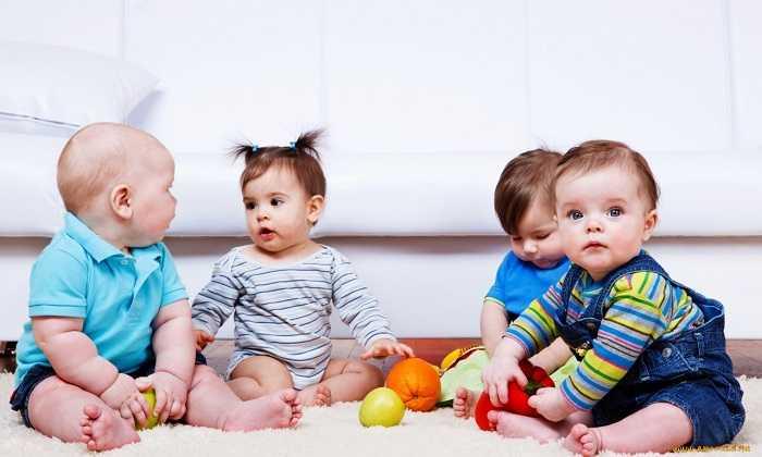 Встреча со сверстниками положительно сказывается на развитие детей