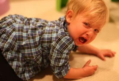 Истерика у малыша в 1 год и 6 месяцев