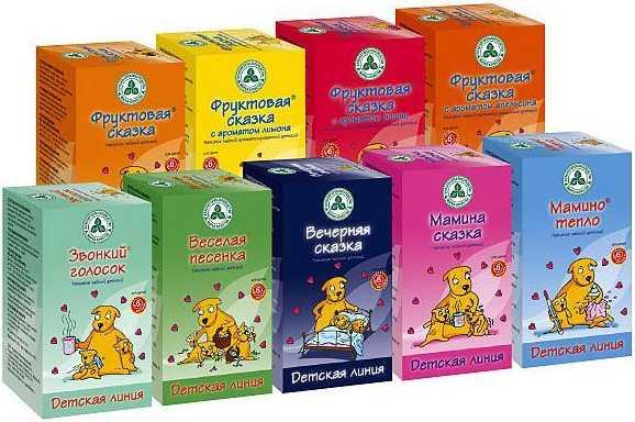 Травяные чаи для малышей