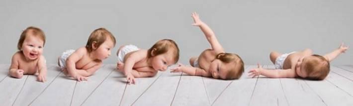 Почему ребенок в 4 месяца не переворачивается