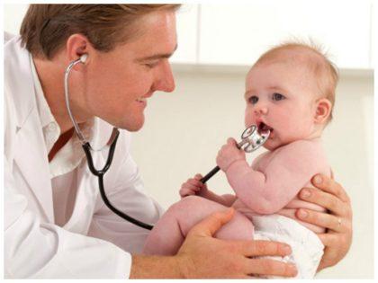молочница у новорожденных во рту - нужно обратиться к педиатру