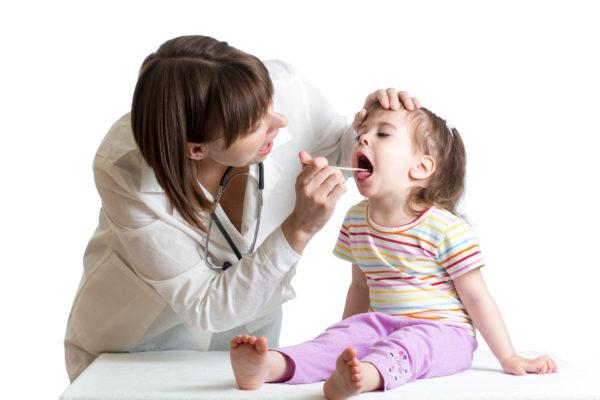 Дифтерия у детей