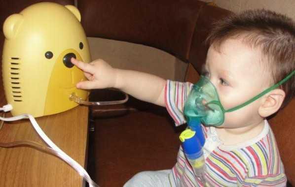Ингаляции при остром ларингите у детей