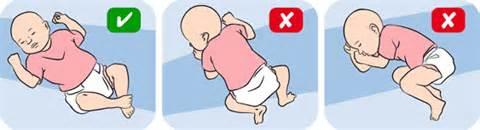 Как укладывать новорожденного спать